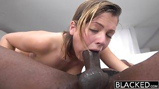 Blacked Keisha Grey First Fat Black Male Stick - ANALDIN