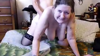 amateur old hot sexy granny seducing a young beggar