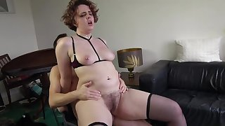 Busty amateur whore loves a bit of maledom encouragement under way