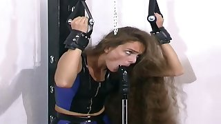 Duteous Whore In Subjection On A Bizarre Porn Scene