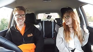 Nedry sandy-haired wholesale in glasses gets drilled in the car after deepthroating wood porntube