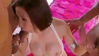 asian granny doublefucked greatest extent her husband is away