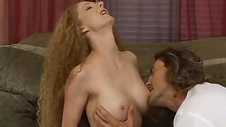 Flexible blonde inclusive wants to show her sexual aptitude to a dude