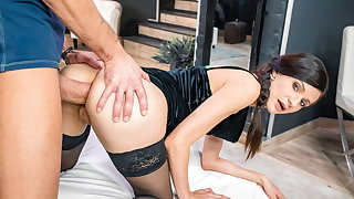 LETSDOEIT Sexy Arian Joy Gets Her Botheration Violated By Big Cock