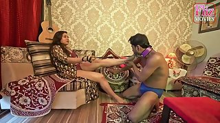 Raunchy Chocolate Indian Prop Femdom Sex