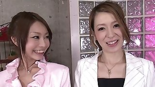 Thrilling 4some vitality with 2 japanese ladies 2 kinky studs sexvideo